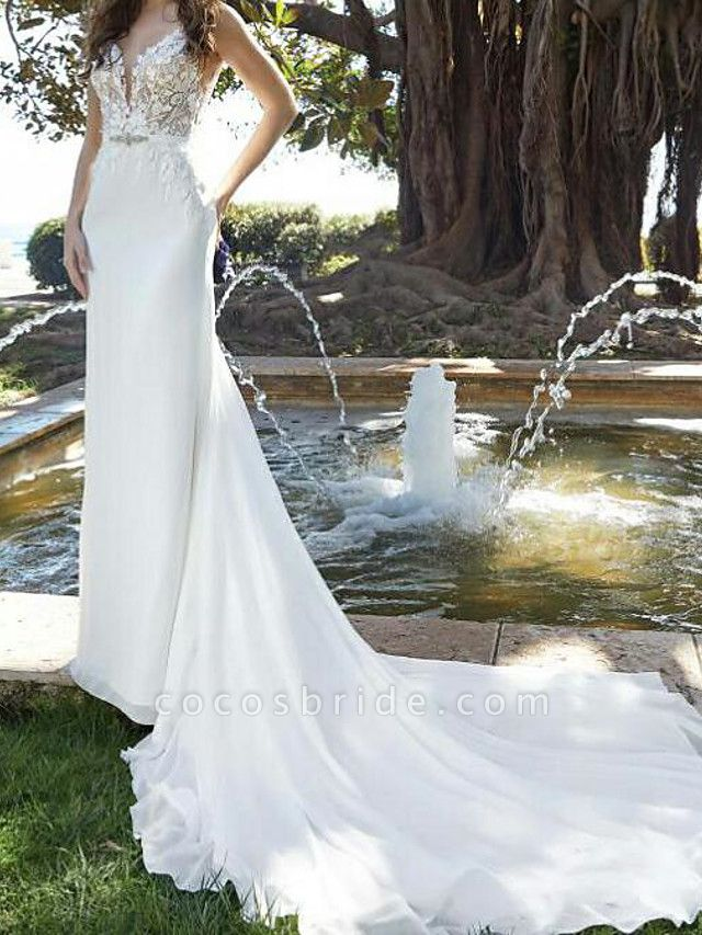 Lt8002951 Mermaid Romantic Bohemian Wedding Dresses 2021