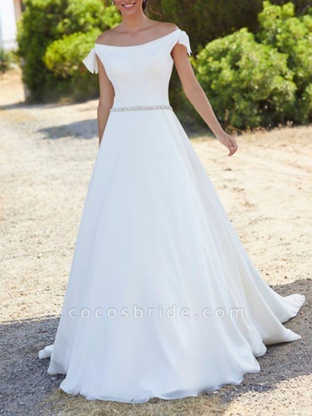 Lt8033724 Off The Shoulder Boho Lace Wedding Dress