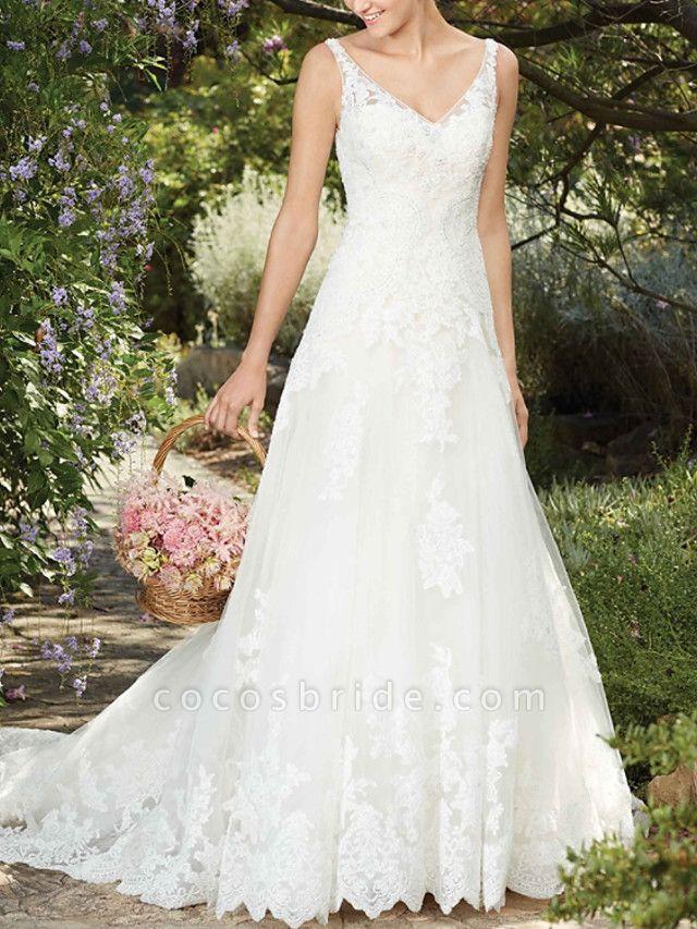 Lt8045536 Vintage Boho Straps Wedding Dress