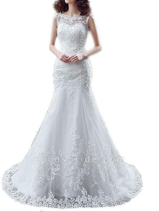 Lt7915217 Mermaid Lace Beads Vintage Bohemian Wedding Dress