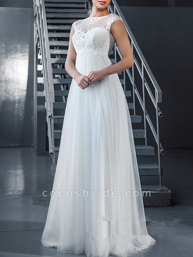 Lt7898347 Romantic A-line Bohemian Wedding Dresses 2021