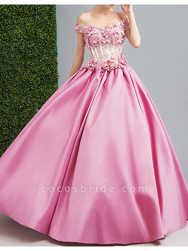 Ball Gown Wedding Dresses Strapless Floor Length Chiffon Tulle Cap Sleeve Formal Wedding Dress in Color Illusion Detail Plus Size