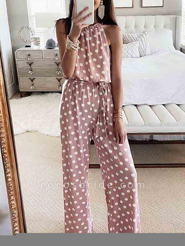Women's Blushing Pink Jumpsuit
