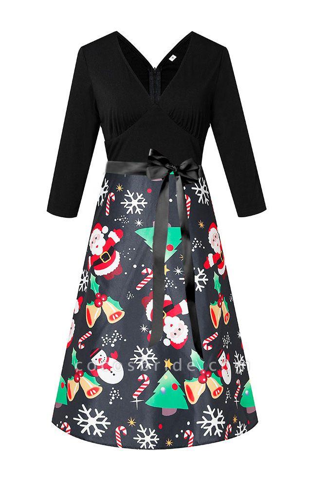 SD1004 Christmas Dress