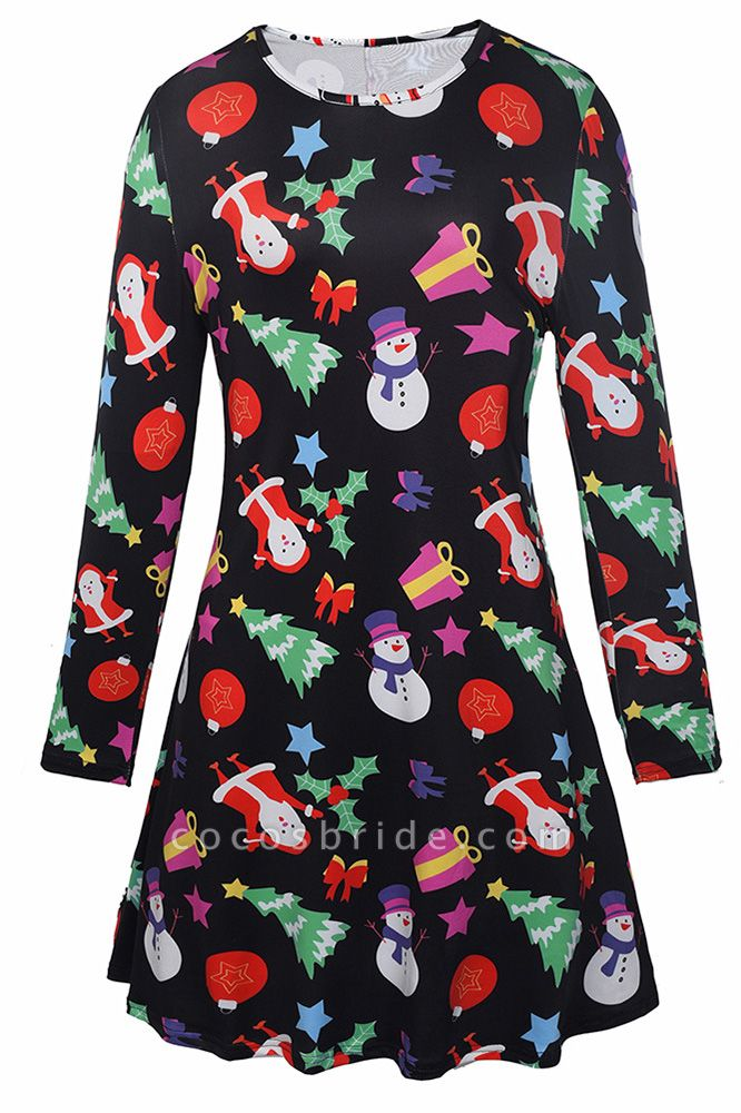 SD1018 Christmas Dress