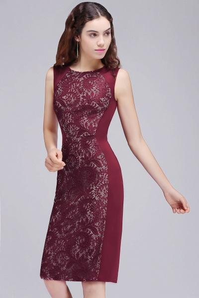 Amazing Jewel Satin Mermaid Homecoming Dress_3