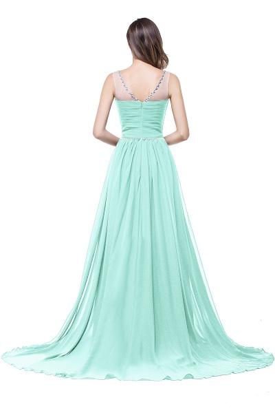 Precious Jewel Chiffon A-line Evening Dress_11