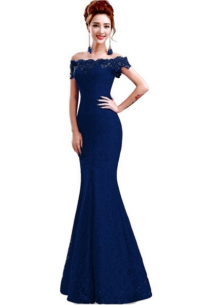 EMMALYNN | Mermaid Off Shoulder  Floor-Length Lace Bridesmaid Dresses_10