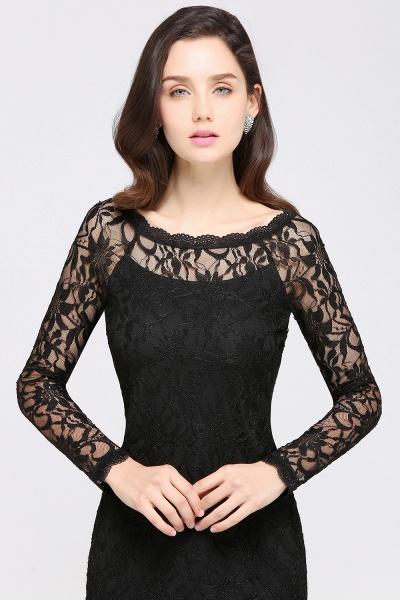 Amazing Jewel Lace Mermaid Bridesmaid Dress_12