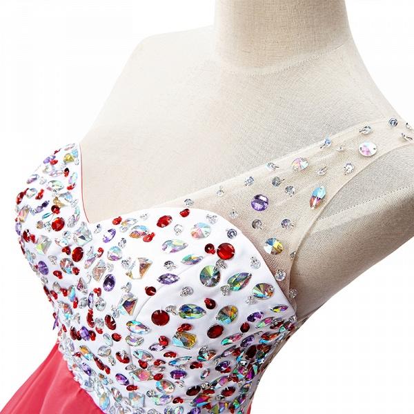 Elegant One Shoulder Chiffon A-line Evening Dress_6