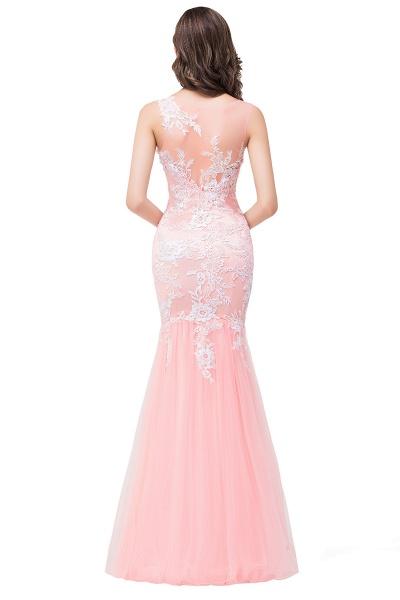 Long Lace Mermaid Sleeveless Maxi Prom Dress_9