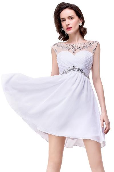 Precious Strapless Chiffon A-line Evening Dress_10