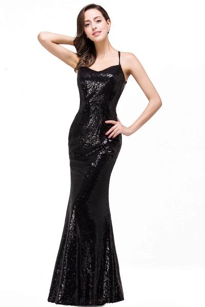 EMILY | Mermaid Sleeveless Sweetheart Floor-length Prom Dress with Sequins_1