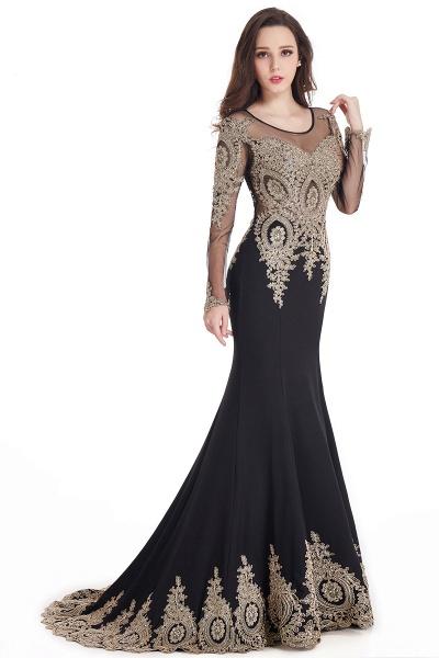 Beautiful Jewel Stretch Satin Mermaid Prom Dress_8