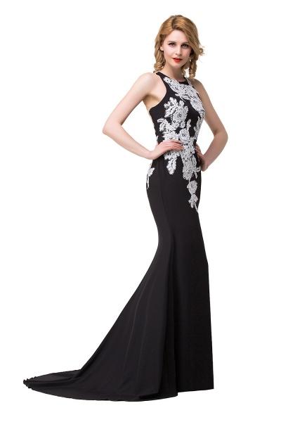 ERIN   Mermaid Crew Sleeveless Floor-Length Prom Dresses With Appliques_6