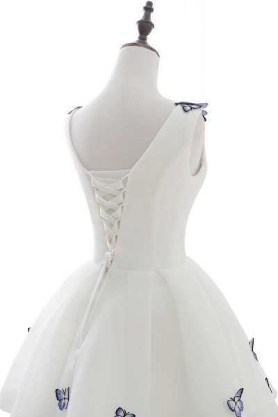 Excellent Straps Satin A-line Homecoming Dress_5