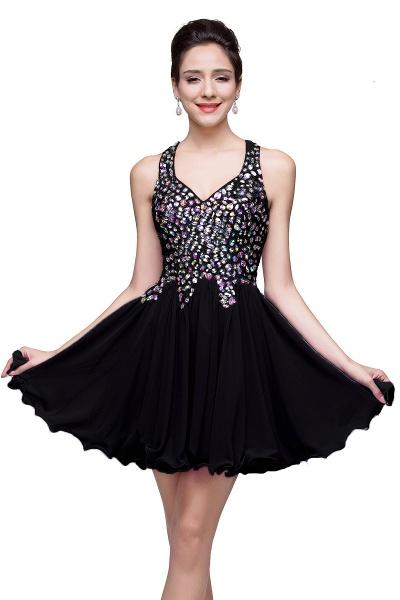 ELIANNA | A-line Sweetheart Short Sleeveless Chiffon Prom Dresses with Crystal Beads_5