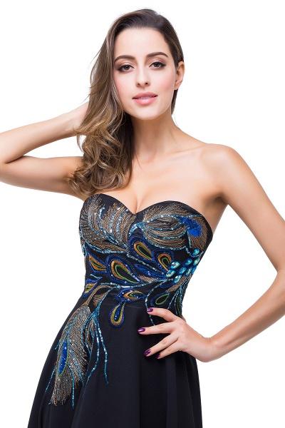 Exquisite Sweetheart Chiffon A-line Evening Dress_5