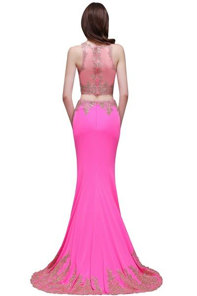 Fascinating Jewel Stretch Satin Column Prom Dress_3