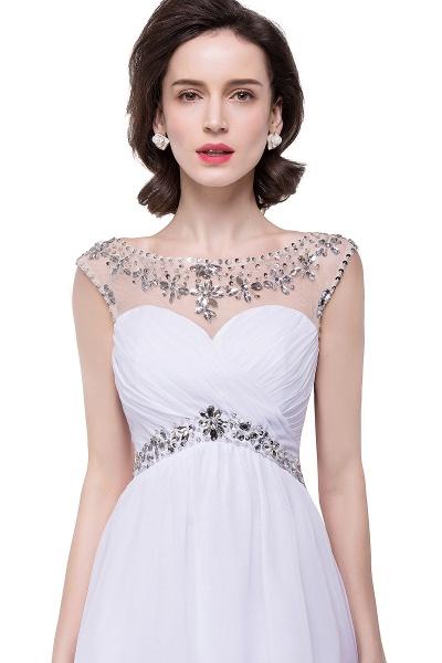 Precious Strapless Chiffon A-line Evening Dress_1