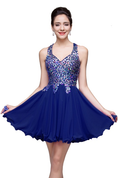 ELIANNA | A-line Sweetheart Short Sleeveless Chiffon Prom Dresses with Crystal Beads_4