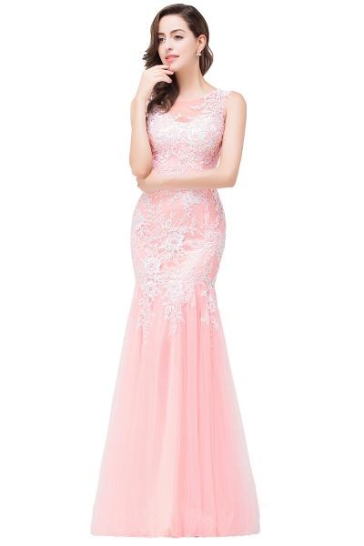 Long Lace Mermaid Sleeveless Maxi Prom Dress_8