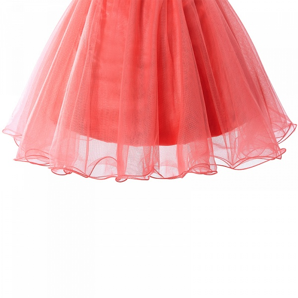 ELISE | Two-piece Halter Sleeveless Short Tulle Prom Dresses with Crystal Beads_7
