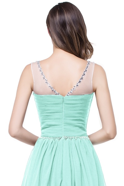 Precious Jewel Chiffon A-line Evening Dress_10