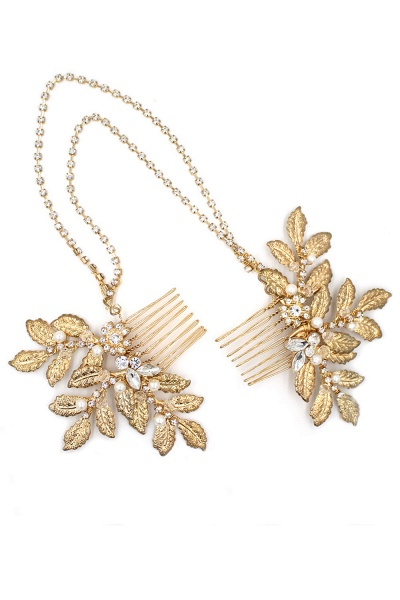 Lovely Alloy&Rhinestone Party Combs-Barrettes Headpiece with Imitation Pearls_10