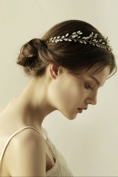 Glamourous Alloy Party Headbands Headpiece with Crystal_6