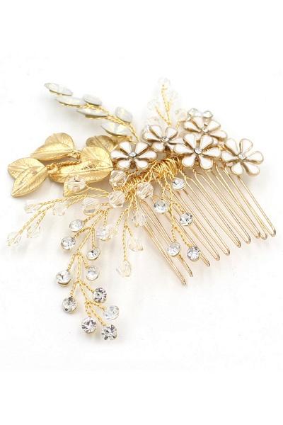 Elegant Alloy&Rhinestone Daily Wear Combs-Barrettes Headpiece with Crystal_10