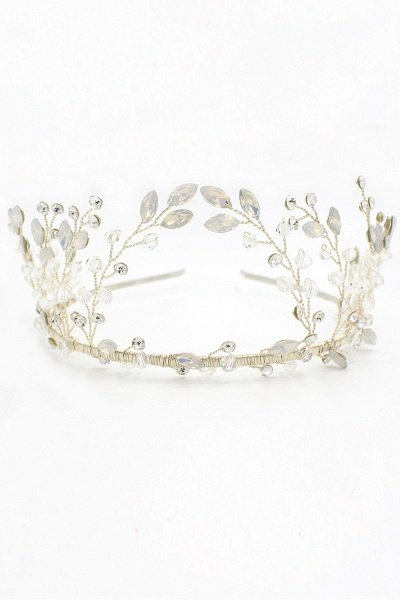 Glamourous Alloy&Rhinestone Special Occasion&Wedding Hairpins Headpiece with Crystal_12
