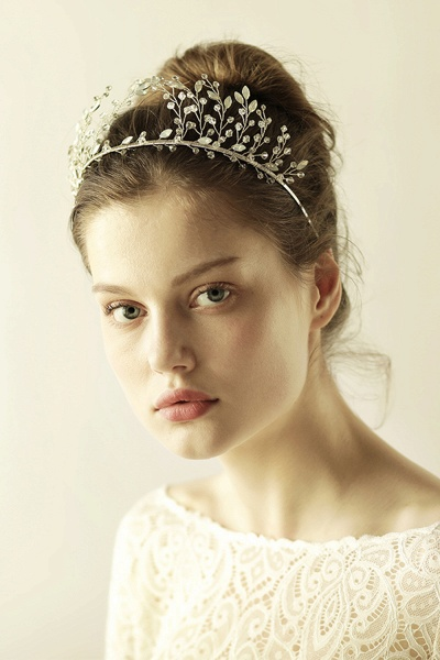 Glamourous Alloy&Rhinestone Special Occasion&Wedding Hairpins Headpiece with Crystal_10