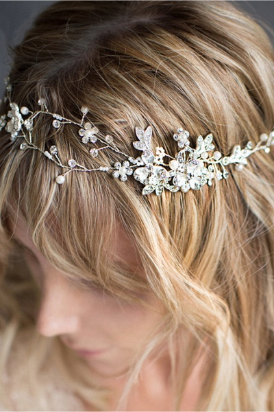 Beautiful Alloy&Imitation Pearls Special Occasion Hairpins Headpiece with Rhinestone_5
