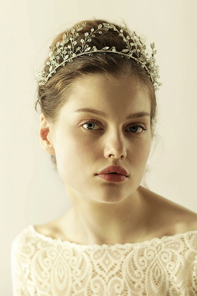 Glamourous Alloy&Rhinestone Special Occasion&Wedding Hairpins Headpiece with Crystal_5