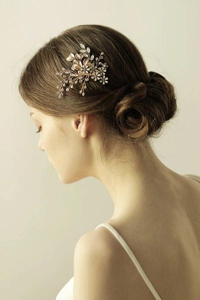 Elegant Alloy&Rhinestone Daily Wear Combs-Barrettes Headpiece with Crystal_5
