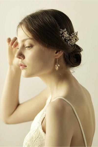 Luxury glamourous Alloy&Rhinestone Special Occasion&Wedding Headbands Headpiece with Imitation Pearls_8