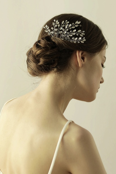 glamourous Alloy Party Combs-Barrettes Headpiece with Crystal_5