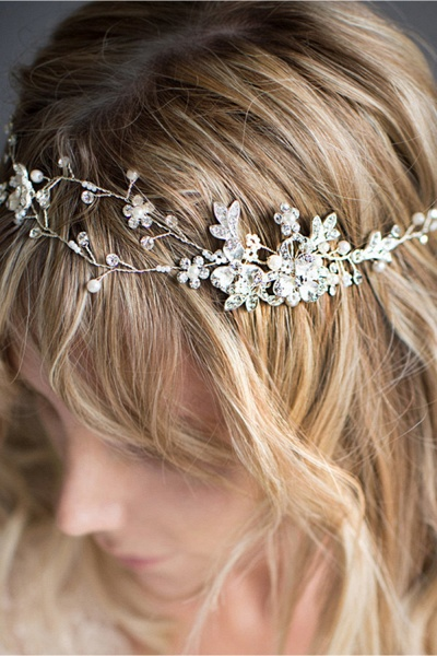 Beautiful Alloy&Imitation Pearls Special Occasion Hairpins Headpiece with Rhinestone_4