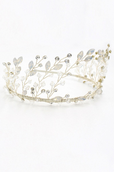 Glamourous Alloy&Rhinestone Special Occasion&Wedding Hairpins Headpiece with Crystal_2