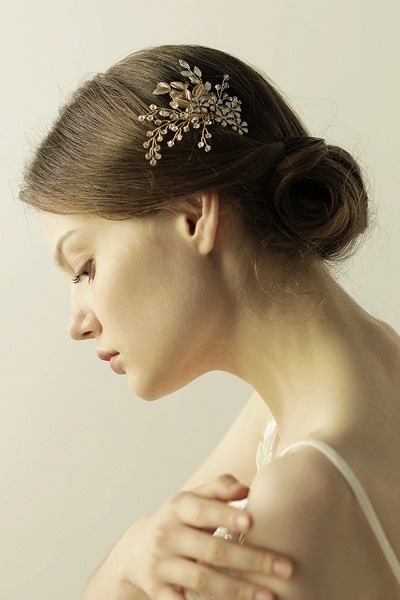 Elegant Alloy&Rhinestone Daily Wear Combs-Barrettes Headpiece with Crystal_8
