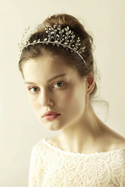 Glamourous Alloy&Rhinestone Special Occasion&Wedding Hairpins Headpiece with Crystal_6