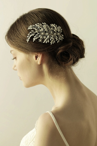 Glamourous Alloy Imitation Pearls Special Occasion Combs-Barrettes Headpiece with Rhinestone_2