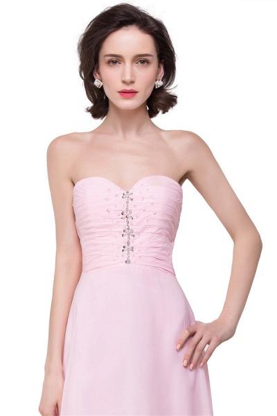 Sweetheart Chiffon A-line Hilo Bridesmaid Dress_3