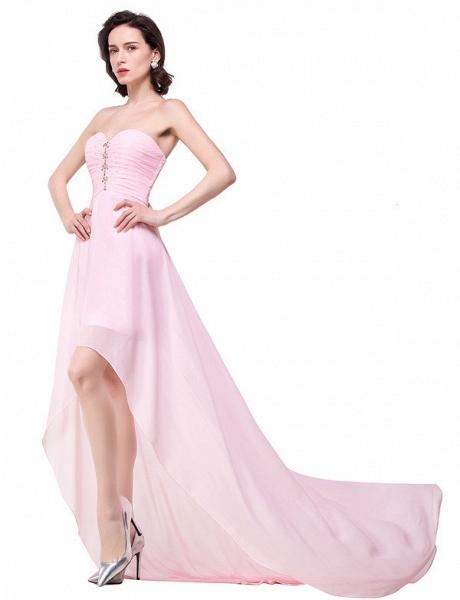 Sweetheart Chiffon A-line Hilo Bridesmaid Dress_7