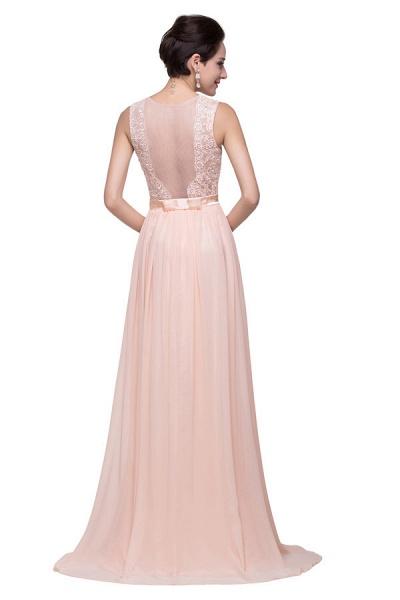 Chiffon A-line Floor Length Bridesmaid Dress_7