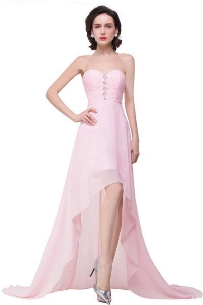 Sweetheart Chiffon A-line Hilo Bridesmaid Dress_4