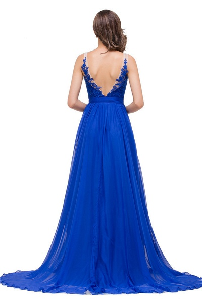 Chiffon A-line Floor Length Bridesmaid Dress_8