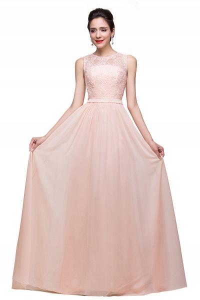 Chiffon A-line Floor Length Bridesmaid Dress_1