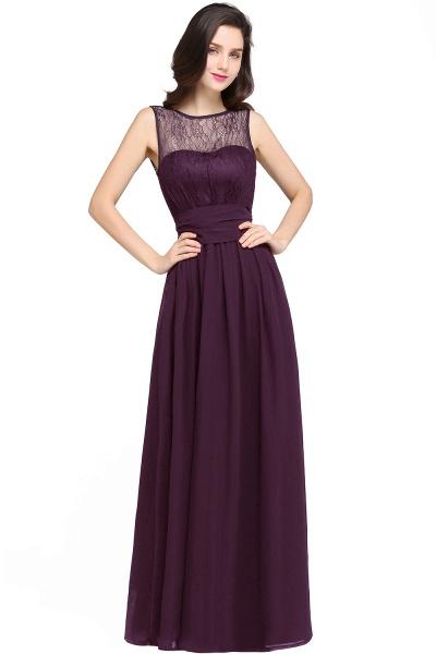 CHARLOTTE |A-line Floor-length Chiffon Sexy Black Prom Dress_2